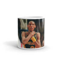 """ Reggie Miller Choke"" Mug - The Source NYC"