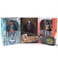 """DC Comics Superman Vs. Batman and Joker 1/8 scale Painted PVC Action Figure Collectible Model Toy 18cm-7"""""""