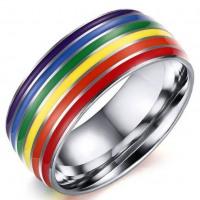 Gay Pride Outside Rainbow Ring