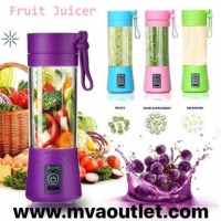 Portable Juicer Cup Mixer Smoothie Maker USB Rechargeable Blender Mini Juicer Juice Machine 380ML