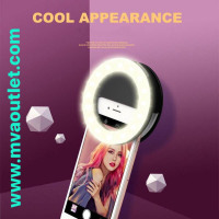 New Fashion Mobile Phone Fill Light Selfie Led Light Camera Phone Photography Selfie Light Ring