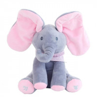 Musical Stuffed Elephant
