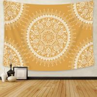 Yellow Mandala Tapestry - Tapestry Girls