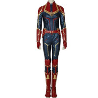 Captain Marvel (2019) Cosplay Suit - [Design 2]