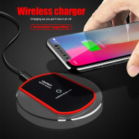 Qi Fast Wireless Charger for Iphone and Samsung Phones