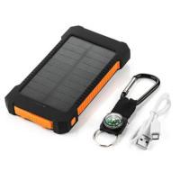 6000-7000mAh Large Capacity Solar Power Bank