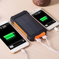 usb cell phone solar battery charger universal IPhone Android Tablet iPad hiking running jogging walking cycling camping outdoors waterproof colors