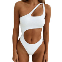 Womens One Piece Swimsuit Hollow Out Sexy Swimwear