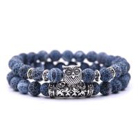 2 Pcs/set Tiger Eye Stone Bracelet