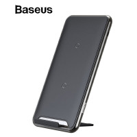 Baseus 10W 3 Coils Wireless Charger For iPhone X/XS Max XR Samsung S9 Note9 Xiaomi Oppo Multifunction Qi Wireless Charging pad-FastWirelessCharger
