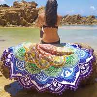 Bright & Colorful Beach Towel/Yoga Mat - Magnus Beauty