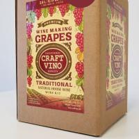 CABERNET GRAPES Premium Wine Kit – Cabernet Sauvignon – Makes wine in 4 -5  weeks - CraftVino