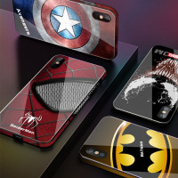 Marvel Avengers  Phone Cases for iPhone 8 7 6 6s Plus XS MAX XR 10 XMAX