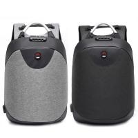 15.6 Inch Laptop Backpack Bag Anti-theft Men Backpack USB Charging Waterproof Travel Rucksack Knapsack Password Lock Business Backpack For Businessman College Students