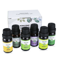 Aromatherapy Oil Humidifier Essential Oil for Diffuser 6 Kinds Fragrance of Rosemary Orange Lavender Peppermint Lemongrass Tea helps you Calm, Relax and Breath so much Better