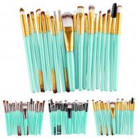 20 pcs Makeup Brush Set tools Make-up Toiletry Kit Wool Make Up Brush Set