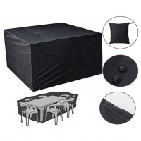 Waterproof Oxford Furniture Rain Cover for Outdoor Garden Wicker Sofa Protection Set Patio Rain Snow Dustproof Covers - Entertainment Vlog