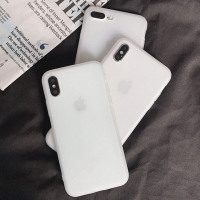 Cover Luxury Clear Silicone Case On For iPhone