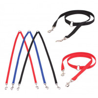 2016 Adjustable Dog Strong Multicolor Lead Two Pet Dogs Walking Leash Pet Products ropa para perros - Bruiser's Pet Products