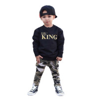 Baby Boy Lil King Top Pant set