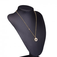 A-Z Initial Charm Chain Necklace