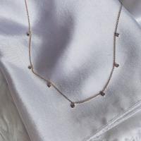 Blair Diamond Charm Necklace