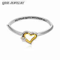 """""""A life without paws, is a life without love"""" Crystal Paw Heart Bangle Pet Memorial Bracelet, Pet Memorial Necklace - Pet Remembrance Gifts"""