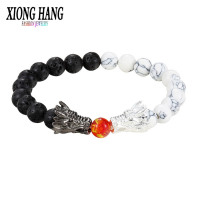 Dragon Ball Z Black and White Bracelet