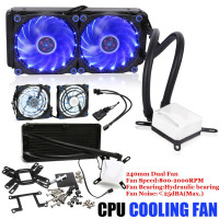 Cooling FROSTFLOW+240 mm Extreme Performance All-In-One Liquid Computer CPU Cooler Fan Set Computer Component Accessories Kit