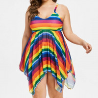 Charming Women Tankini Beach Padded Bathing