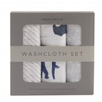 In The Wild Elephant Washcloth Set by Newcastle