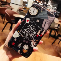 Hard Phone Case For iPhone X 6 6s 7 8 Clock Princess Cover Back For iPhone 6s 7 8 Plus - Greatthings2buy