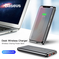 10000mAh Battery Bank Wireless Charger - BeeCam
