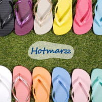 Original Fashion Woman Flip Flops with Pure Color New Slim Fashion Beach Sandals All Size Color - Hotmarzz Flip Flops