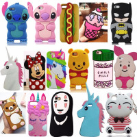 Soft Silicone Back Cover For iPhone 5/5s/SE/5C/6/6s/X/XR/Xs/Max/7/8/Plus