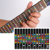 Guitar Fretboard Notes Map Labels Sticker Fingerboard Fret Decals for 6 String Acoustic Electric Guitarra - Mac's Music Shop