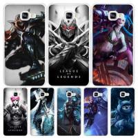 League Legends Jinx Zed Case Cover Phone Cases for Samsung Galaxy A3 A5 A7 A8 A9