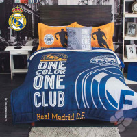 REAL MADRID COMFORTER WITH SHERPA SET