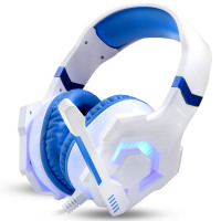 Fashion Noise Reduction Game Headset Gaming Headset Stereo 3.5mm Mic LED Light Changing Headphone
