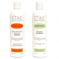 E'TAE Natural Products - Carmelux Shampoo 12oz and Conditioner 12oz Duo