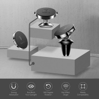 Baseus Magnetic Car Holder For Phone Universal Holder Mobile Cell Phone Holder Stand For Car Air Vent Mount GPS Car Phone Holder