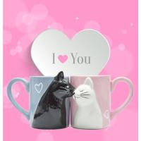 2pcs Luxury Kiss Cat Cups - Premier1Products.Com