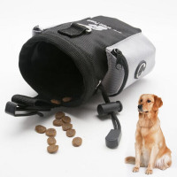 1pc Puppy Pet Agility Bait Training Waterproof Dog Bag Walking Food Snacks Bait Waist Bag Pet Supplies Accessories