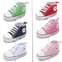 Canvas Classic Sports Sneakers For Newborns, Infants and Toddlers