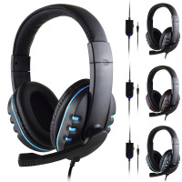 3.5mm Wired Gaming Headset Deep Bass Professional Computer Gaming Headset With HD Microphone