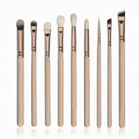 Different Set Of Makeup Brushes