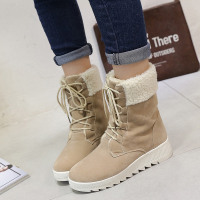 Women Winter Mid Calf Boots