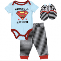 baby boy clothes, kids store,  Superman Baby Boy Set