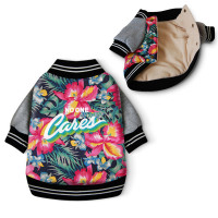 NO ONE Cares Printed Jacket - Little Huff