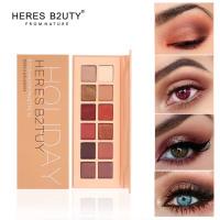 12 Color Eye Shadow Matte palette makeup matte above eigth colors